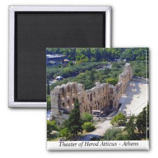 アテネのHerodのAtticusの劇場 マグネット
