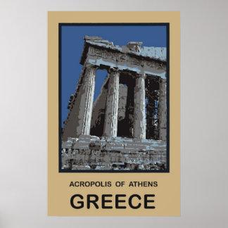 アテネギリシャのアクロポリス ポスター