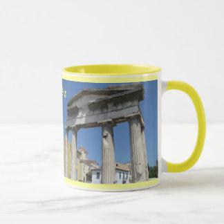 アテネギリシャのマグのデザイン マグカップ