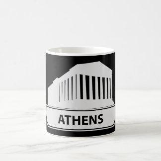 アテネギリシャのマグ コーヒーマグカップ
