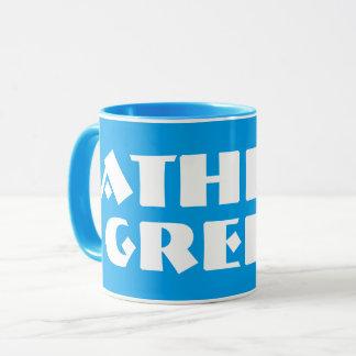 アテネギリシャのモダンなコーヒー・マグ マグカップ
