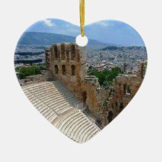 アテネギリシャColosseum セラミックオーナメント