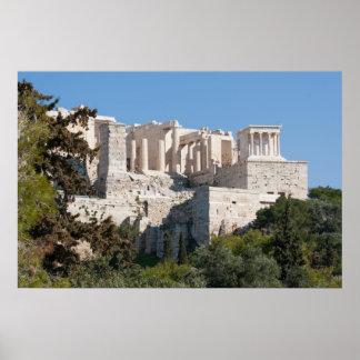アテネポスターのアクロポリス ポスター