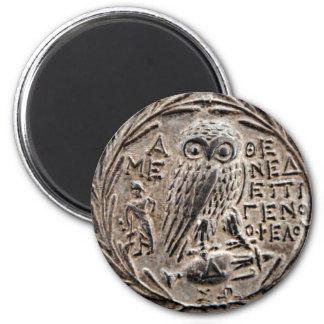 アテネ銀製のTetradrachm マグネット