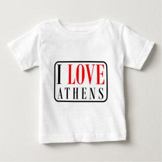 アテネ、アラバマ都市デザイン ベビーTシャツ