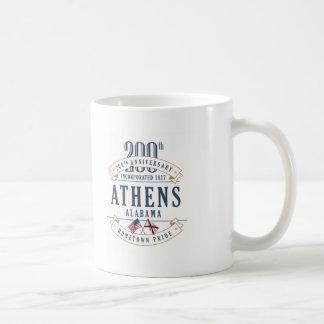 アテネ、アラバマ200th記念日のマグ コーヒーマグカップ