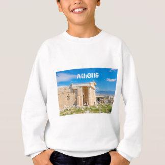 アテネ、ギリシャのアクロポリス スウェットシャツ