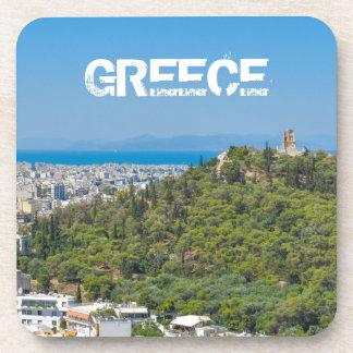アテネ、ギリシャのパノラマ コースター
