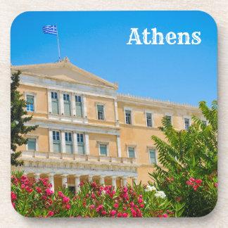 アテネ、ギリシャの議会の建物 コースター