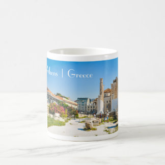 アテネ、ギリシャのHadrianの図書館 コーヒーマグカップ
