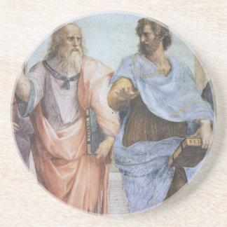 アテネ(詳細-プラトン及びアリストテレス)の学校 コースター