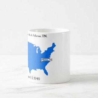 アテネ、TNの第3戦い コーヒーマグカップ