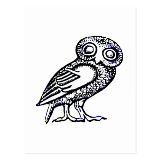 アテーナーのフクロウ ポストカード