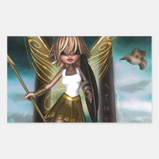 アテーナーの妖精 長方形シール