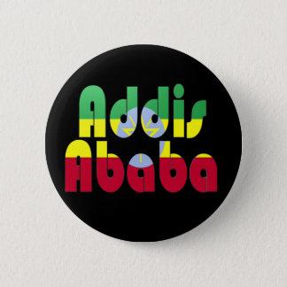 アディスアベバ、エチオピア 5.7CM 丸型バッジ
