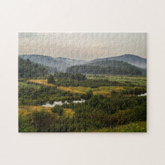 アディロンダック山地-霧深い-泥地の土地 ジグソーパズル