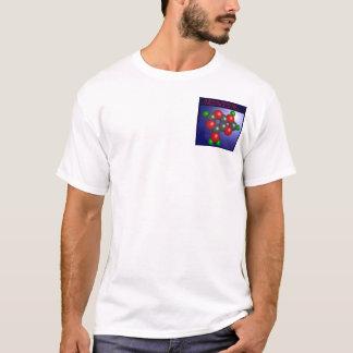 アデニン分子(ポケット) Tシャツ