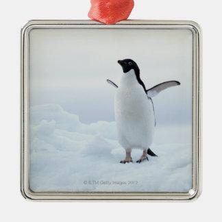 アデリーペンギン、南極大陸 メタルオーナメント