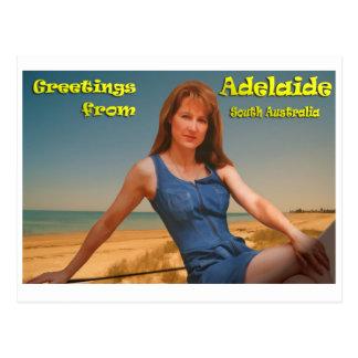 アデレードからのGreatings ポストカード