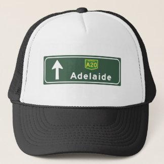 アデレード、オーストラリアの交通標識 キャップ