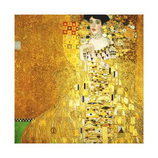 アデールBloch-BauerグスタフのクリムトのキャンバスのプリントによってI キャンバスプリント