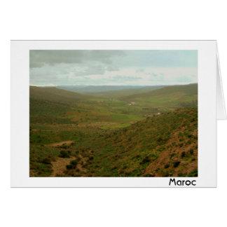 アトラス山脈の谷 カード
