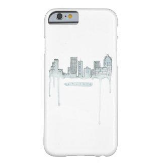 アトランタのスカイラインの電話箱 BARELY THERE iPhone 6 ケース