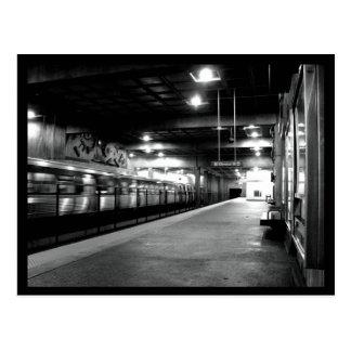 アトランタの地下鉄の駅 ポストカード