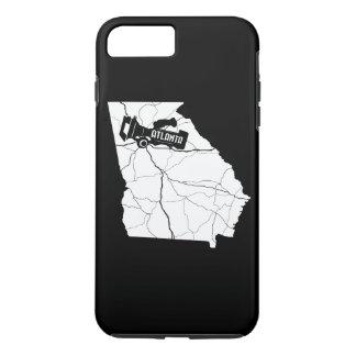 アトランタの映画製作者のiPhoneの場合(暗い) iPhone 8 Plus/7 Plusケース