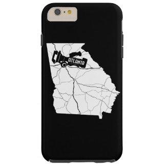 アトランタの映画製作者のiPhoneの場合(暗い) Tough iPhone 6 Plus ケース