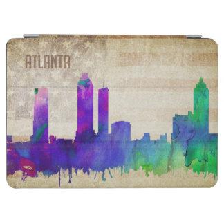 アトランタのGA |の水彩画都市スカイライン iPad AIR カバー