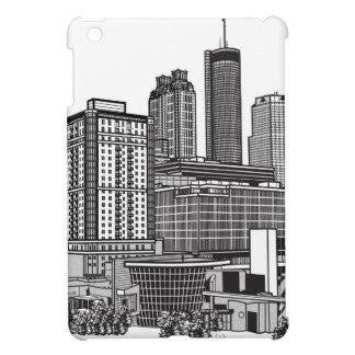 アトランタジョージアのスカイラインの芸術 iPad MINIケース