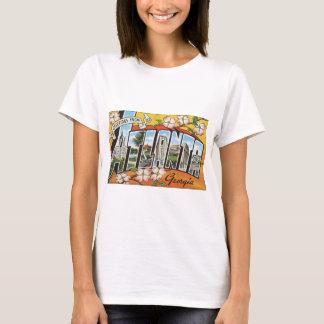 アトランタジョージアのヴィンテージからの挨拶 Tシャツ