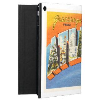 アトランタジョージアGAの古いヴィンテージ旅行郵便はがき iPad AIRケース