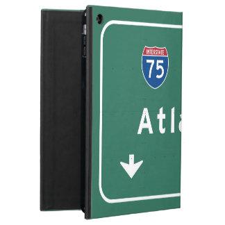 アトランタジョージアgaの州間幹線道路の高速道路: iPad airケース