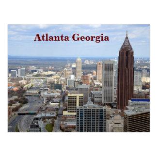 アトランタ、ジョージアの空中写真 ポストカード