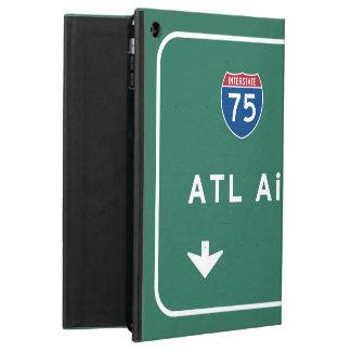 アトランタATL空港I-75 N州連帯のジョージア- iPad AIRケース