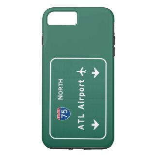 アトランタATL空港I-75 N州連帯のジョージア- iPhone 8 PLUS/7 PLUSケース
