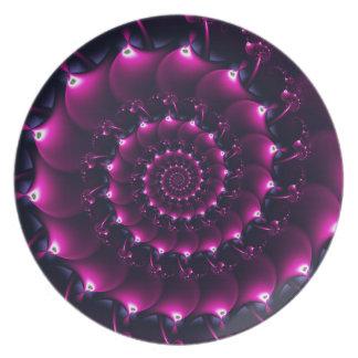 アトランティスの貝殻(紫色) プレート