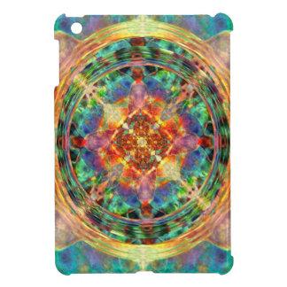 アトランティスは虹の曼荼羅をインスパイア iPad MINIケース
