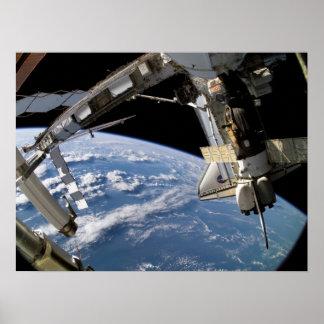 アトランティス及びISS (STS-115) ポスター