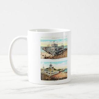 アトランティック・シティのノスタルジア コーヒーマグカップ