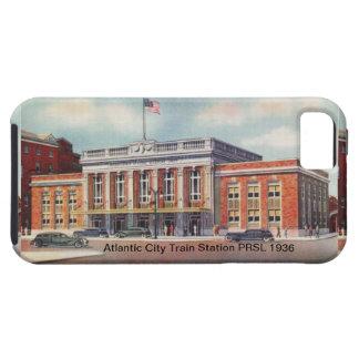 アトランティック・シティの駅PRSL 1936年 iPhone SE/5/5s ケース