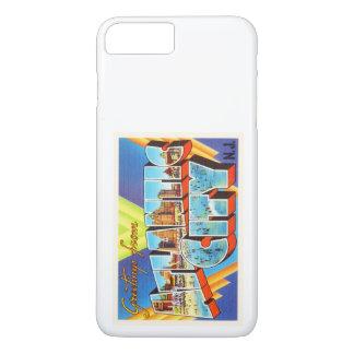 アトランティック・シティ2ニュージャージーNJのヴィンテージ旅行- iPhone 7 PLUSケース