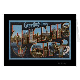 アトランティック・シティ、ニュージャージー-大きい手紙場面2 カード