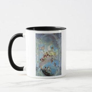 アドニス1707-08年からの金星の分割(フレスコ画) マグカップ