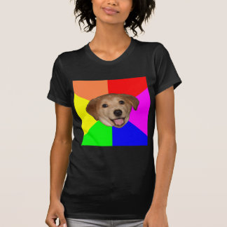 アドバイス犬 Tシャツ