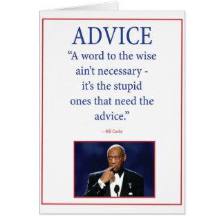 アドバイス カード