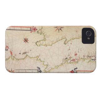 アドリア海のミニチュア航海のな地図、1624年(parc Case-Mate iPhone 4 ケース