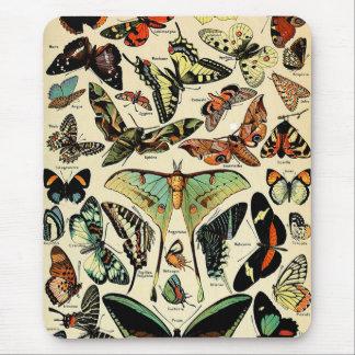 アドルフMillot Papillons マウスパッド